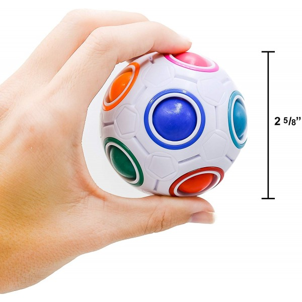 "The developing toy ""Rainbow Ball"""